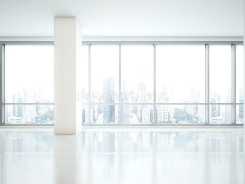 Panoramisch venster royalty-vrije stock afbeeldingen