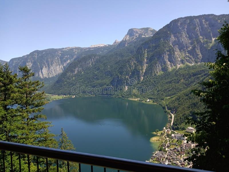 Panoramische Ansicht von Bolsena lizenzfreie stockbilder