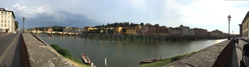 Panoramische Ansicht von Florenz lizenzfreies stockbild