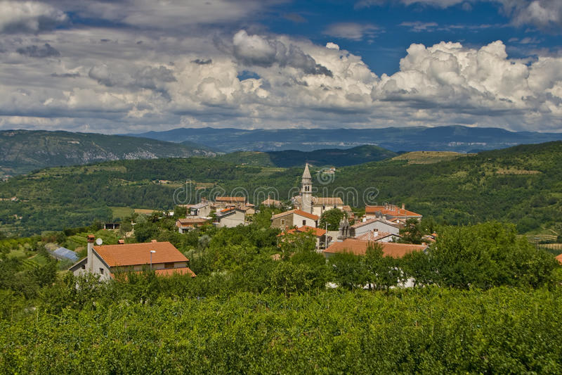 Panoramische Ansicht von Kaldir stockbilder