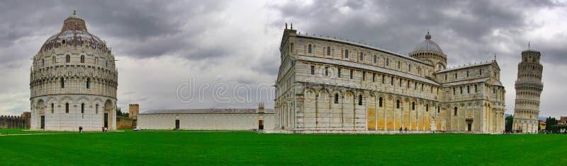 Panoramische Ansicht von Pisa. stockfoto