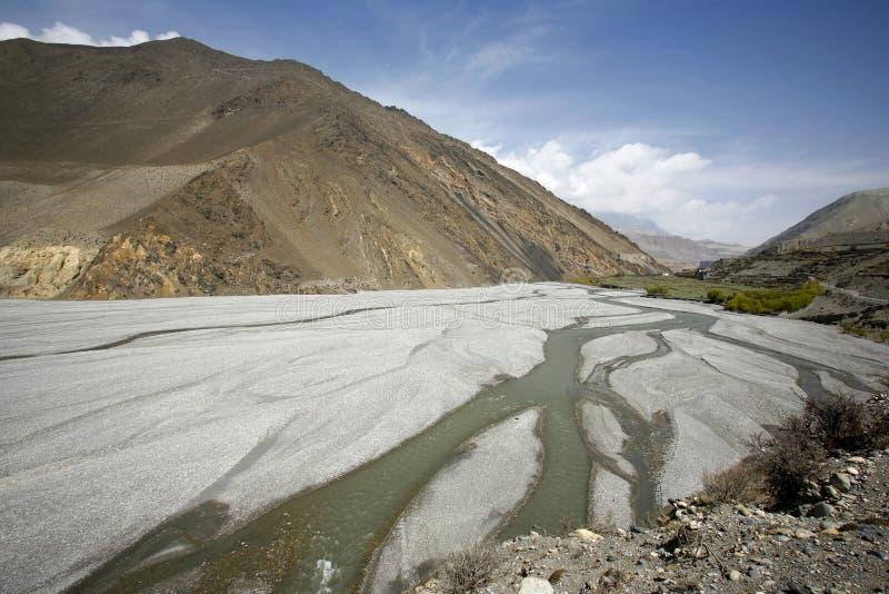 Panoramische Ansicht von River Valley lizenzfreies stockfoto