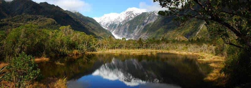 Panoramische Ansicht von See lizenzfreies stockbild