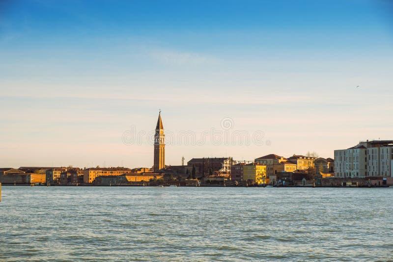 Panoramische Ansicht von Venedig lizenzfreies stockfoto