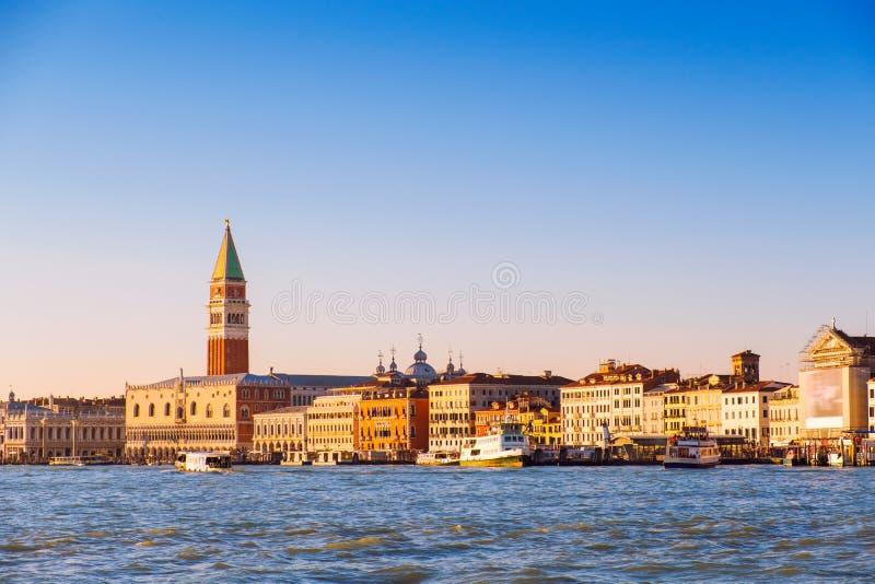 Panoramische Ansicht von Venedig lizenzfreies stockbild