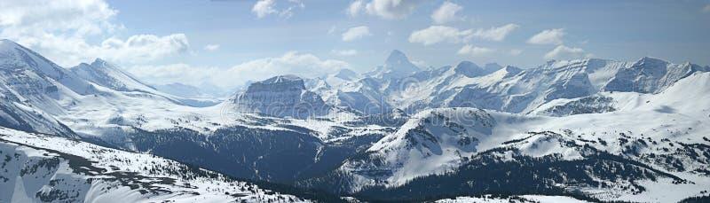 Panoramische berg royalty-vrije stock afbeelding