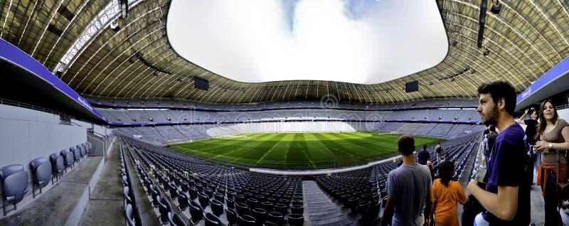Panoramische de Arena van Allianz royalty-vrije stock fotografie