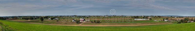 Panoramische de Provincie van Lancaster royalty-vrije stock foto