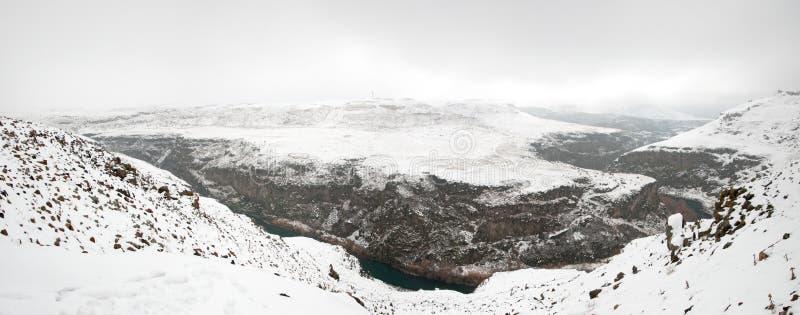 panoramische fotovallei stock foto