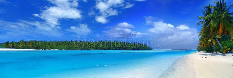 Panoramische Lagune III stockfotografie