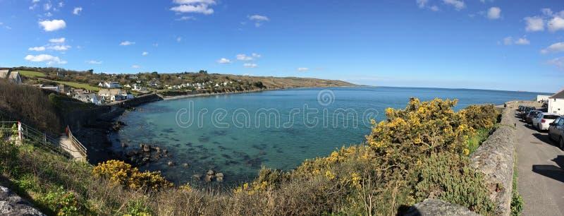 Panoramische overzees stock foto