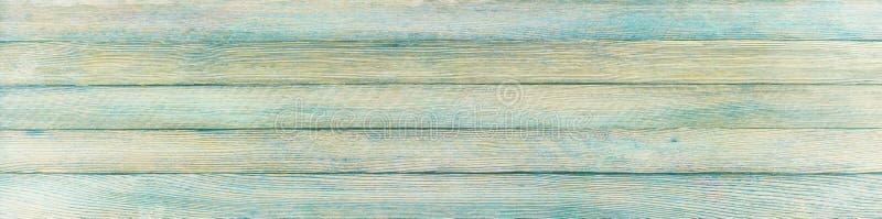 Panoramische retro grungeachtergrond van houten planken royalty-vrije stock foto