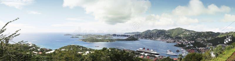 Panoramische von der Luftansicht stockfoto