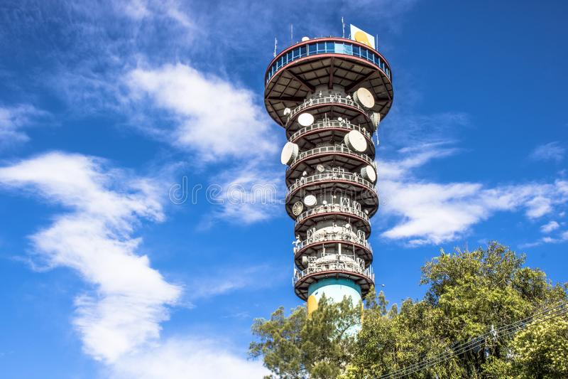 Panoramischer Turm lizenzfreie stockbilder