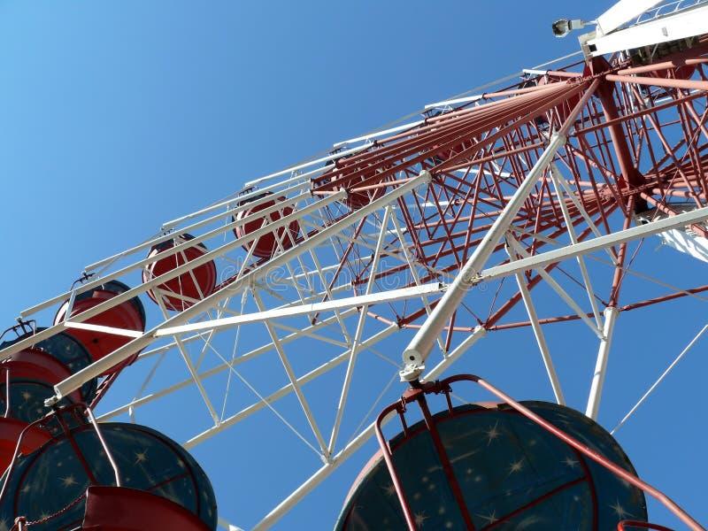 Panoramisches Himmelrad stockfotografie