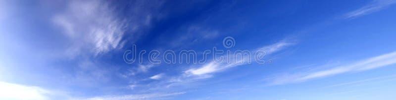panoramy niebo zdjęcia stock