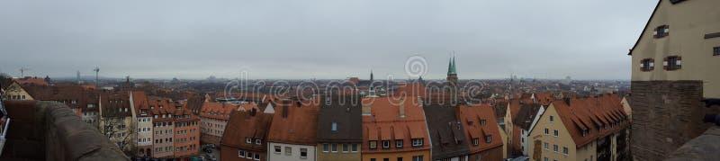 Panoramy Nuremberg NÃ ¼ rnberg zdjęcia stock