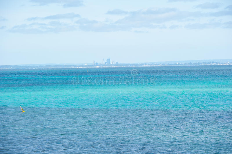 Panoramy Perth Australia oceanu wybrzeże obrazy royalty free