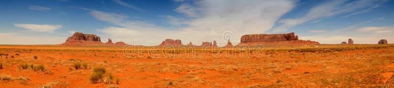 panoramy pomnikowa dolina obrazy stock