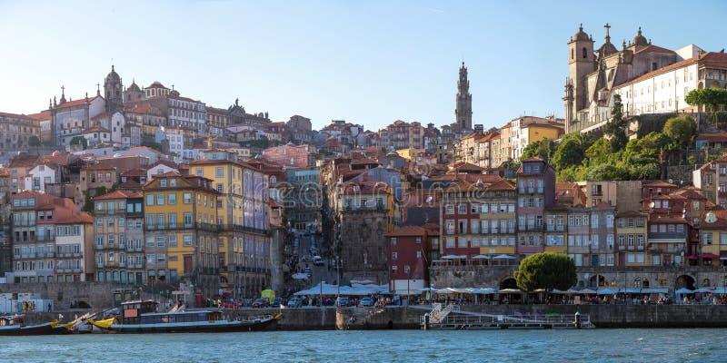 Panoramy Porto antyczny miasteczko obraz stock