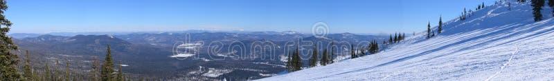 panoramy sheregesh zdjęcia stock