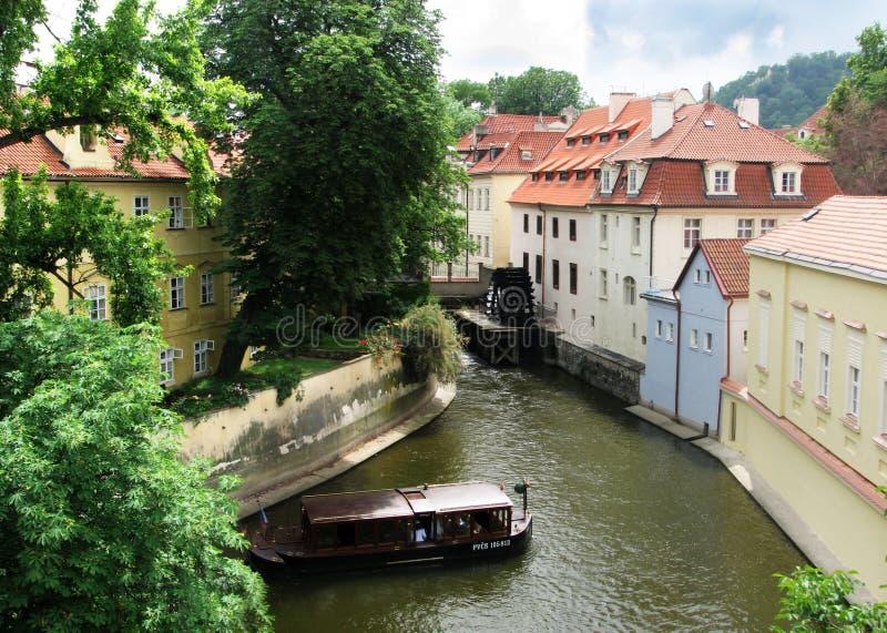 Panorana van Praag royalty-vrije stock fotografie