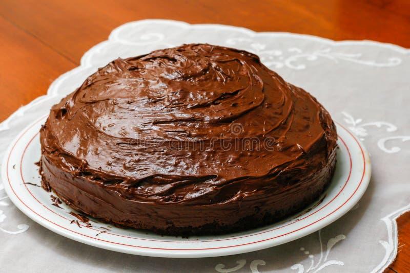 Panpepato è un dessert tipico dalla Toscana immagine stock libera da diritti