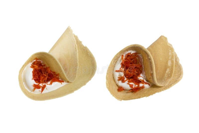 Panqueca friável tailandesa imagens de stock