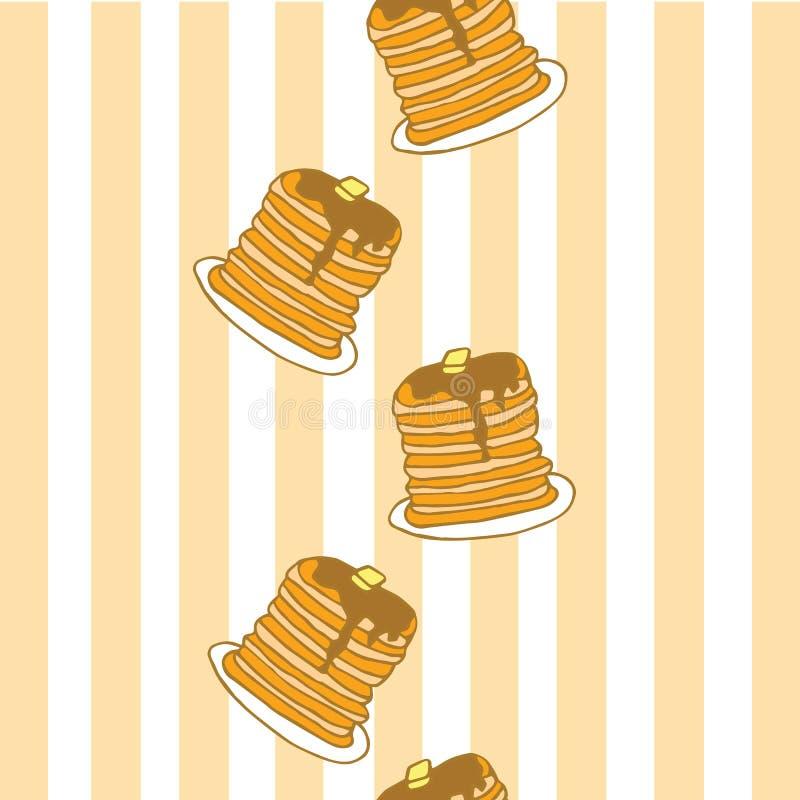 Panquecas para o café da manhã, por favor! imagem de stock royalty free