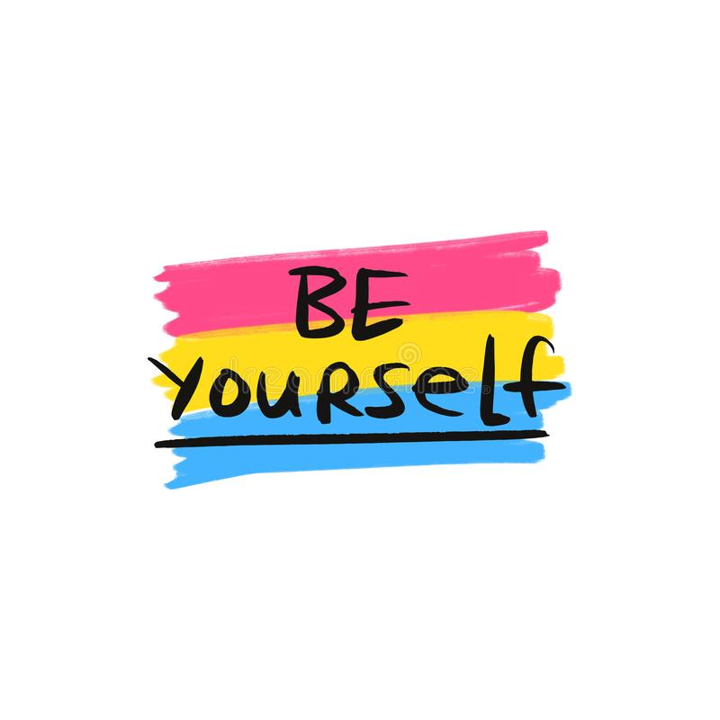 Image result for be yourself clipart