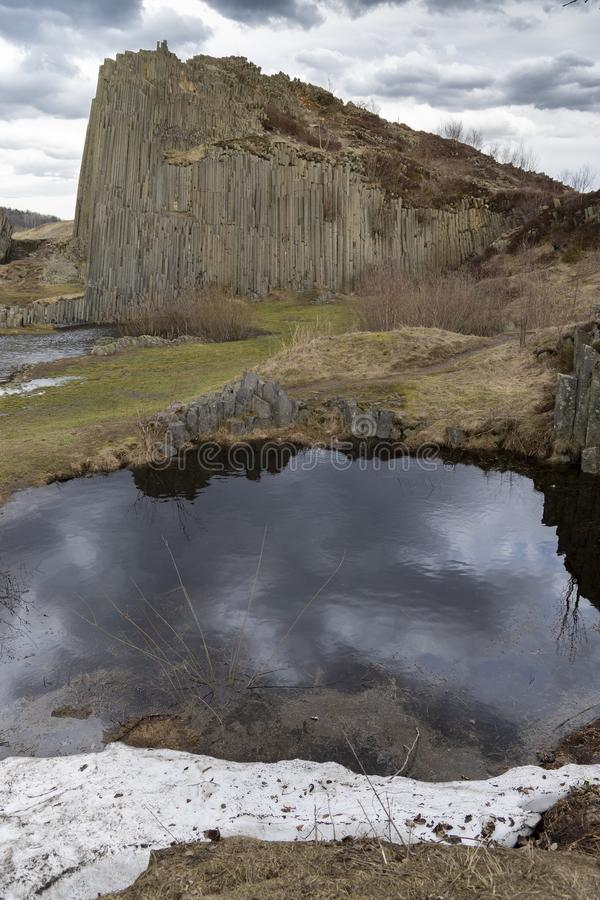 Panska skala, Kamenicky Senov, republika czech zdjęcie royalty free