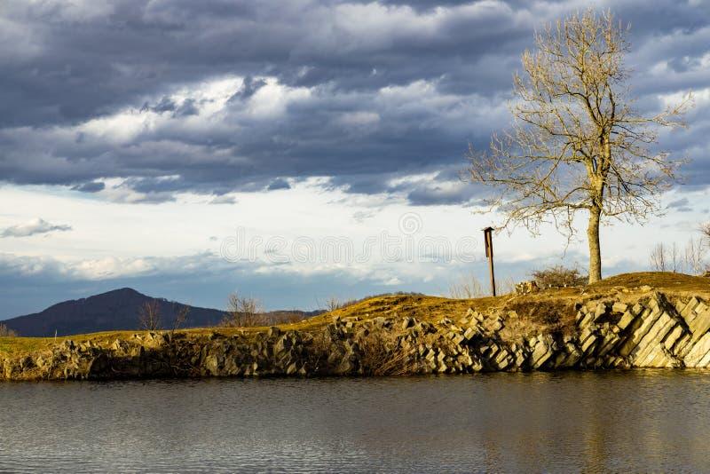 Panska skala, Kamenicky Senov, Republika Czeska zdjęcie stock