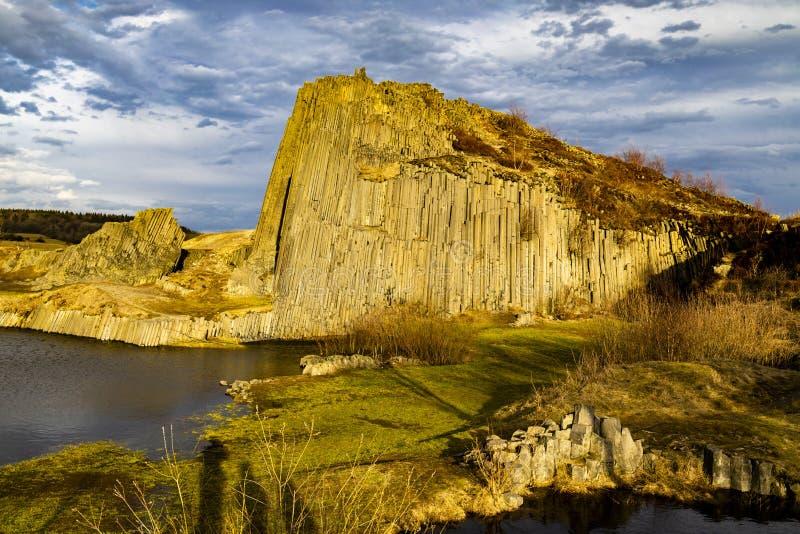 Panska skala, Kamenicky Senov, Tjeckien royaltyfri fotografi