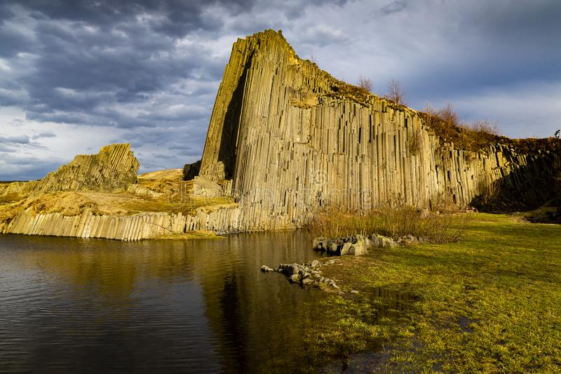 Panska-skala, Kamenicky Senov, Tschechische Republik lizenzfreie stockfotos