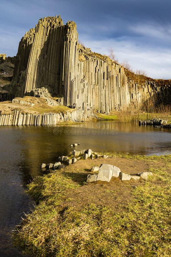 Panska-skala, Kamenicky Senov, Tschechische Republik stockbilder