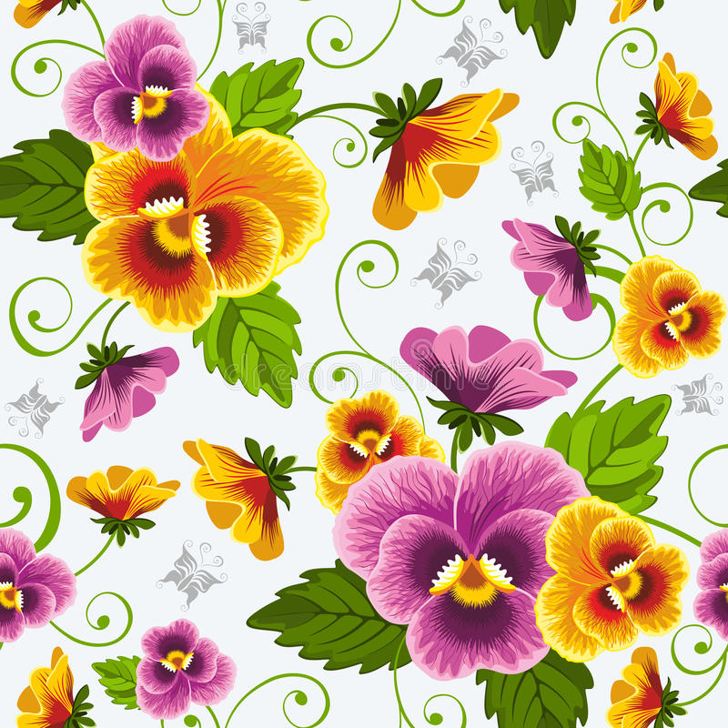 Pansy royalty free illustration