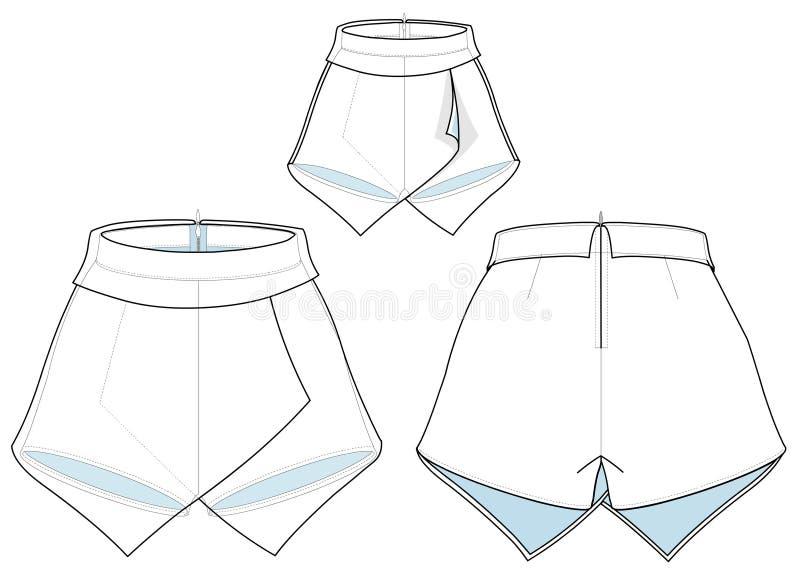 Skirt Pants stock photos