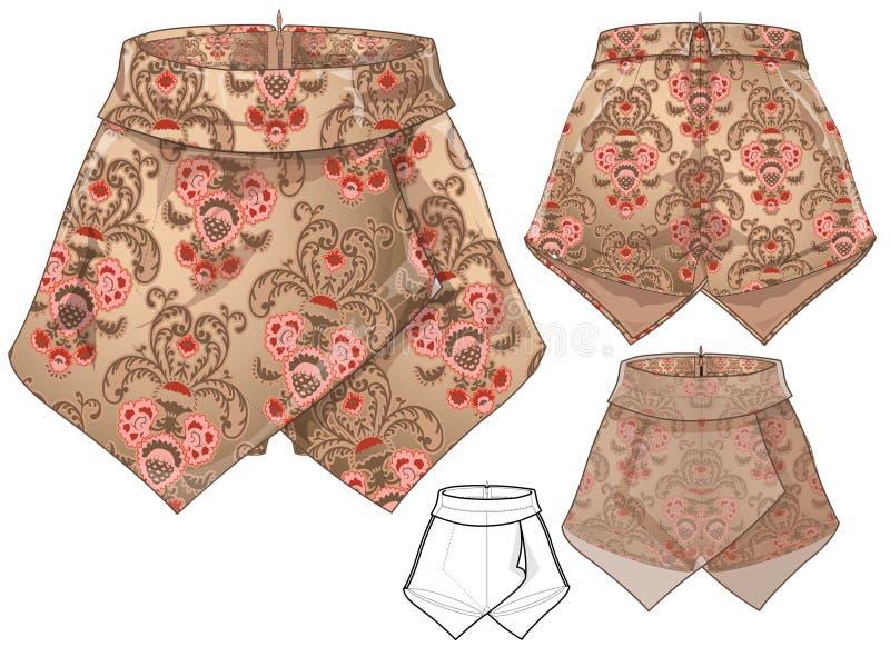 Skirt Pants royalty free stock photography