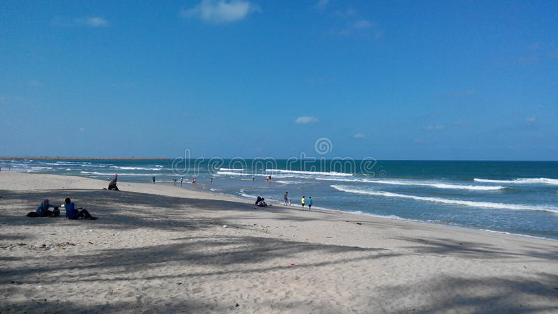Pantai batu burok stock images