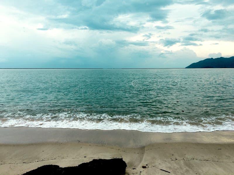 pantai chenang royalty-vrije stock foto's