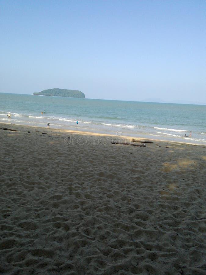 Pantai keluang royalty-vrije stock fotografie