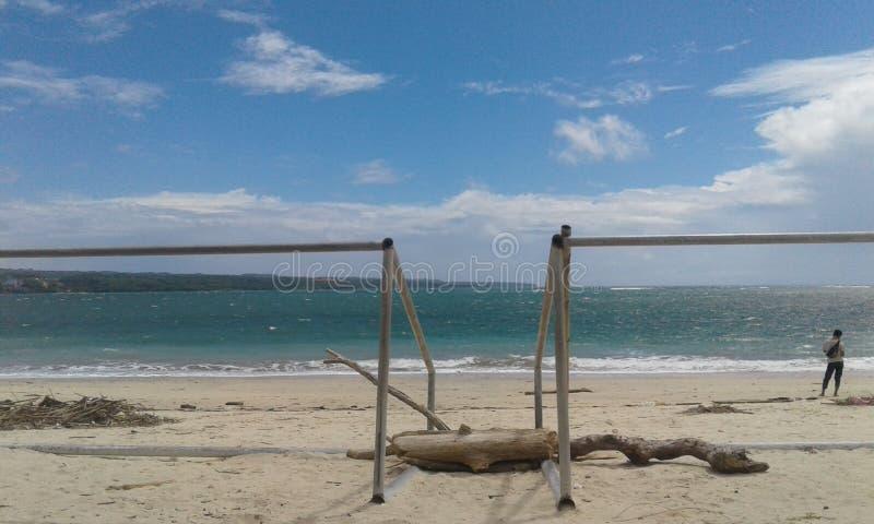 Pantai klangken foto de archivo