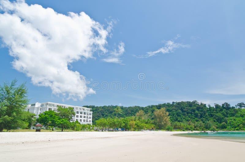 Pantai Kok, Langkawi, Maleisië stock foto