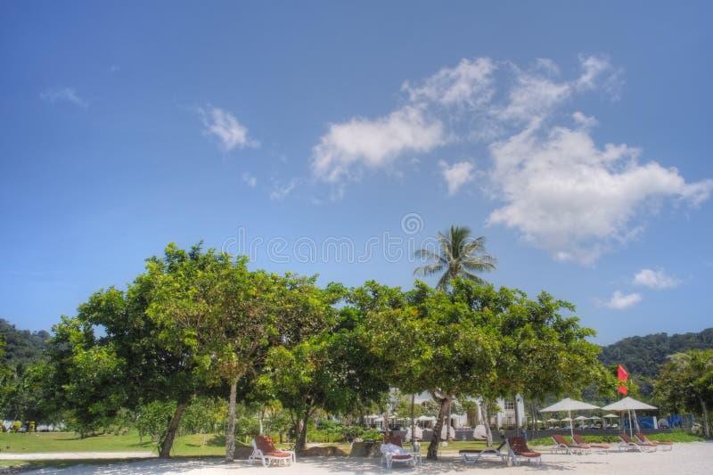Pantai Kok, Langkawi, Malezja zdjęcia royalty free