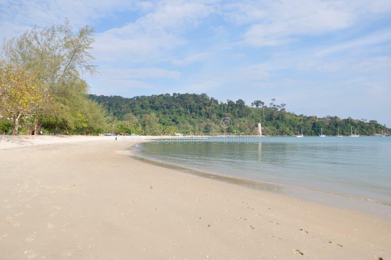 Pantai Kok plaża fotografia royalty free