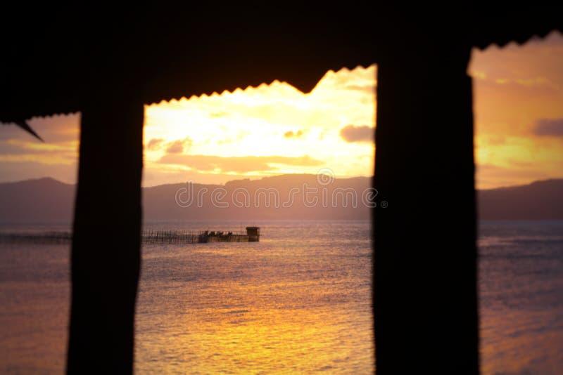 Pantai lauma strèet royalty free stock photography