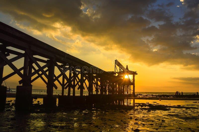Pantai Pasir Putih Situbondo стоковое фото