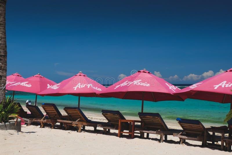 Pantai Pendawa strand i Bali, Indonesien arkivbild