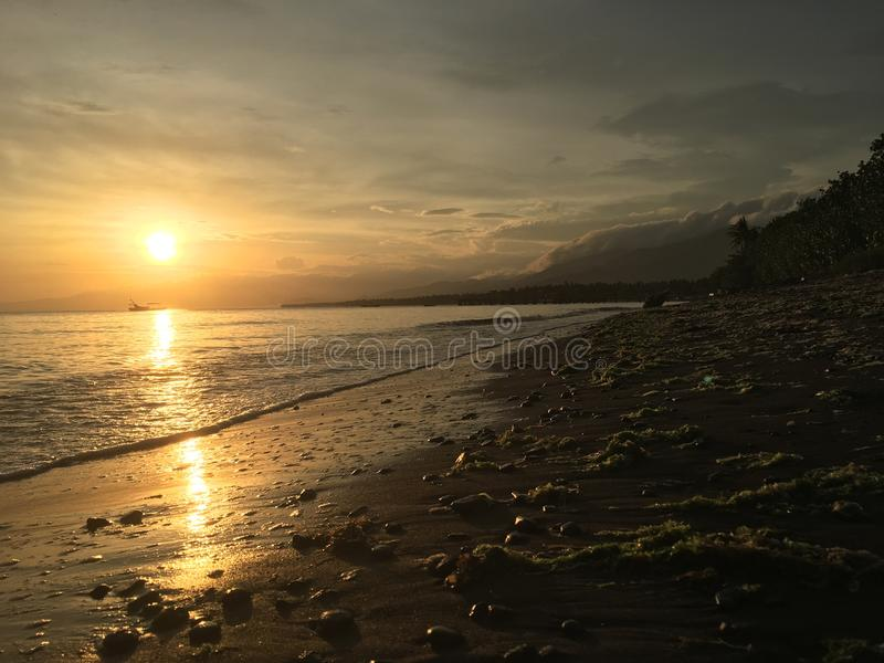 Pantai Penyabangan obrazy royalty free