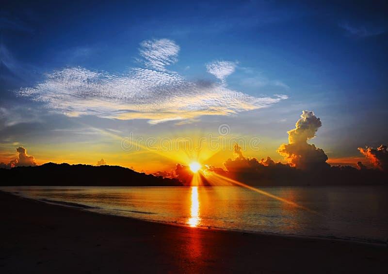 Pantai Taman Gelora photo libre de droits